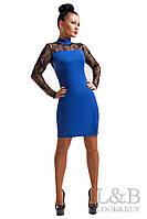 Вечернее платье Наоми электрик
