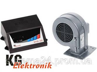 Контроллер для твердотопливного котла KG Elektronik SP-05 LED+ вентилятор DP02