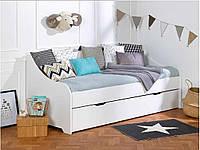 Кровать-диван для подростка, Junior Provence Lit banquette CALI blanc, фото 1