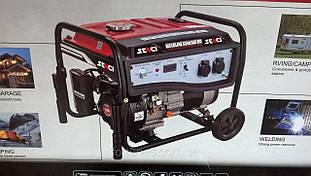 Генератор бензиновий Senci 6000 Ручний стартер