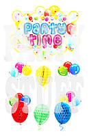 Гирлянда праздничная Party Time, 3D