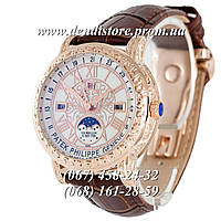 Часы Patek Philippe Grand Complications 6002 Sky Moon Brown-Silver-White