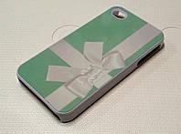 Чехол пластиковый с рисунком бант tiffany для iPhone 5/5s/5se