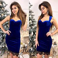 Платье  бархат, фото 1