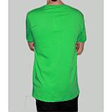 Футболка мужская с принтом зеленая, фото 2