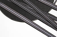 ТЖ 15мм репс (50м) черный+т.серый+св.серый , фото 1