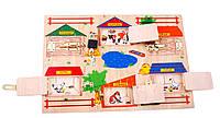Бизиборд  - Замочки - Игра детская деревянная