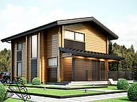 Проектирование домов из клееного бруса