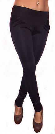 Брючные лосины черные, фото 2