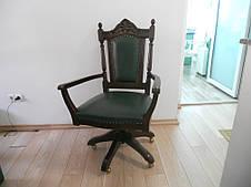 Кресло вращательное (кожа/гобелен) Regal