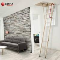 """Чердачная лестница """"Комфорт""""120x60 см."""