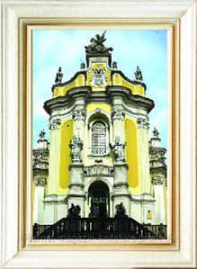 Схема для вышивания бисером на авторской канве Собор Святого Юра