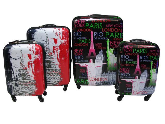 Если чемодан предназначается для вещей одного человека, то при поездке на  3-5 дней, хватит одного маленького пластикового чемодана высотой 50-55 см. bd5f47299af