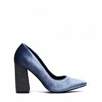 Туфли женские (новинка 2017) на фигурном каблуке 35-40