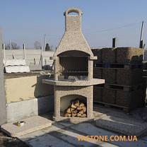 Камин-барбекю садовый «Рио» угловой, фото 2