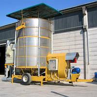 Мобильная зерносушилка MECMAR S 34/255T