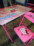 Детская парта - столик со стульчиком DT 18-11 Hello Kitty, фото 4