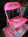 Детская парта - столик со стульчиком DT 18-11 Hello Kitty, фото 5