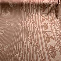 Теплый трикотаж ткань купон вязка бежевый на гольфы и свитера