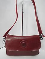 Клатч из натуральной кожи Farfalla Rosso красный
