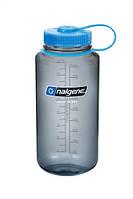 Бутылка для воды и сока 1000мл голубая Nalgene
