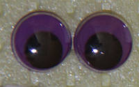 Глаза бегающие 10 мм. сирен.