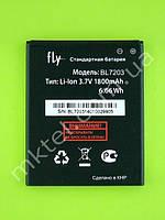 Аккумулятор BL7203 FLY IQ4405 Evo Chic 1 1800mAh Оригинал Б/У