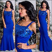 Платье в пол с пайетками (несколько расцветок) d-5032444