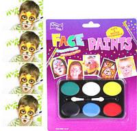 6 цветов краска боди-арт для лица для детей от 3 лет Face Paints