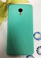 Матовый силиконовый чехол Meizu M3 Note