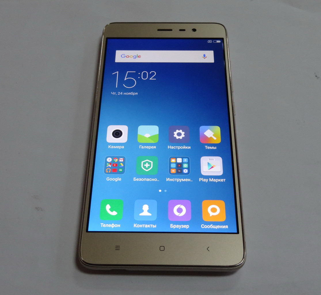 Xiaomi Redmi Note 3 Pro 16gb Gold