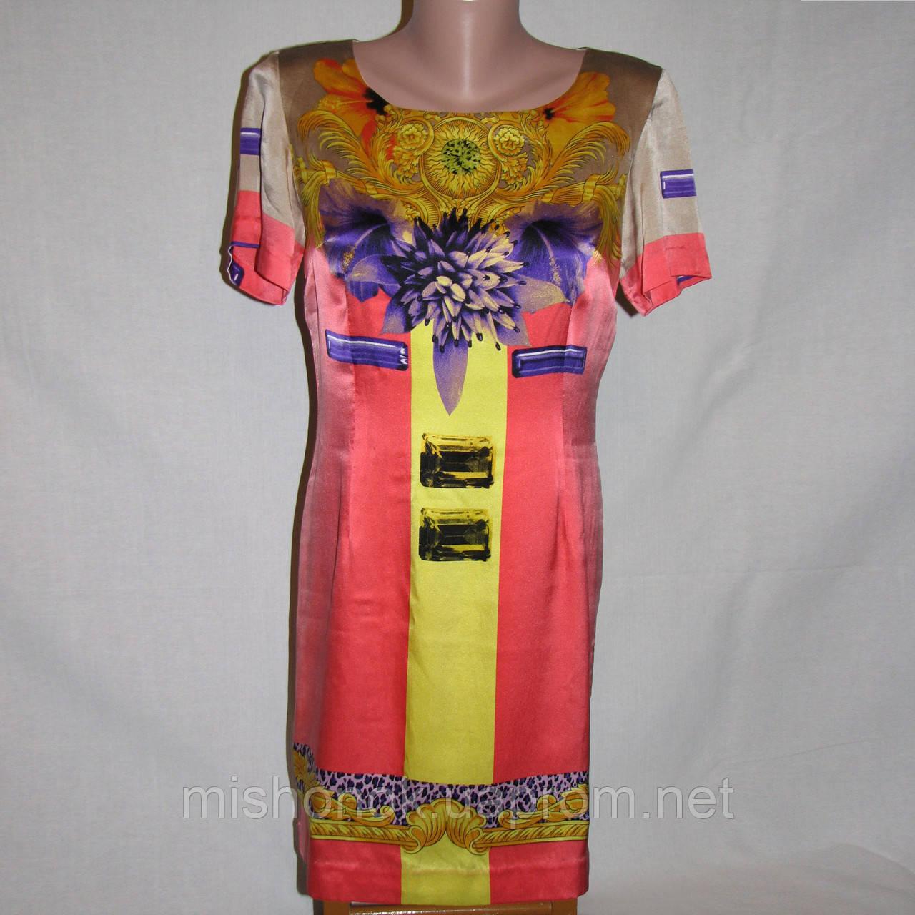 Платье атласное Versace р.44
