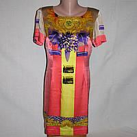 Платье атласное Versace р.44, фото 1