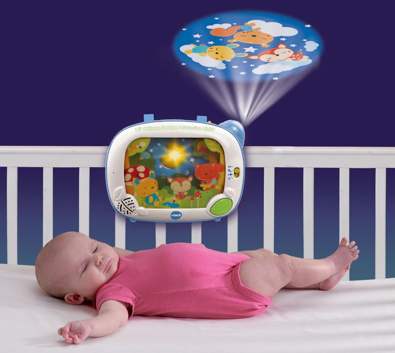 Детский ночник проектор на кроватку VTech