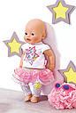 Одежда для кукол Беби Борн комплект одежды гламурный стиль Baby Born Glam Hit Zapf Creation  822241, фото 4