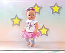 Одежда для кукол Беби Борн комплект одежды гламурный стиль Baby Born Glam Hit Zapf Creation  822241, фото 5
