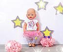 Одежда для кукол Беби Борн комплект одежды гламурный стиль Baby Born Glam Hit Zapf Creation  822241, фото 6
