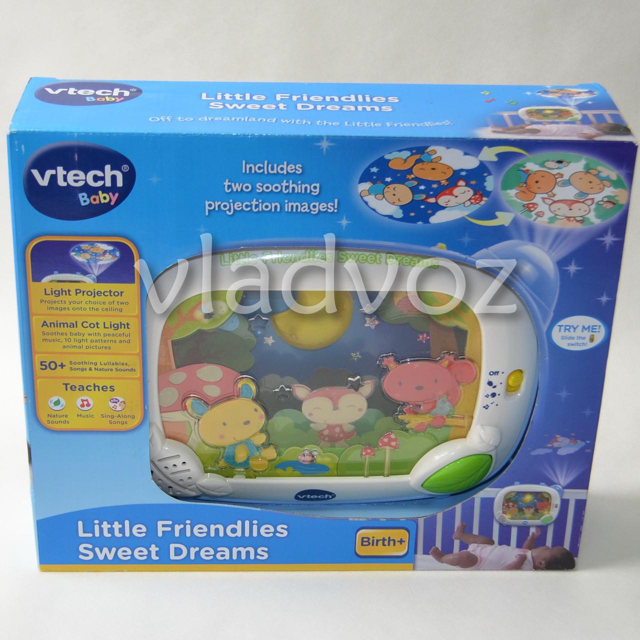 Детский ночник цветной проектор на кроватку VTech - интернет магазин vladvoz.in.ua мтс 0664476900, киевстар 0977864700, лайф 0933641800 в Николаевской области