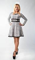 Модное платье интересного фасона