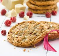 Куки с Белым Бельгийским шоколадом и Малиной Лакшери