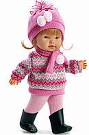Кукла Лоренс/Llorens Valeria в зимнем, 28 см