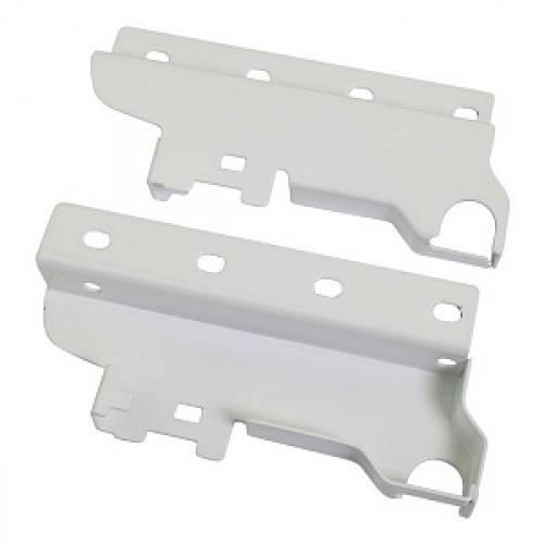 Крепление Задней Стенки Пластиковое Для Релинга LS BOX Белое