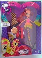 Кукла Барби My Little Pony Sunset Shimmer А8841 Hasbro Китай