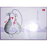 Подложка для стола «Glamourrr cats» с фольгой, 50*35см L5913 Leo