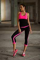 Designed For Fitness. Спортивный костюм Low Rise Pink Capri, фото 1