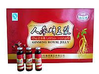 Маточное молочко с женьшенем и кордицепсом ginseng royal jelly