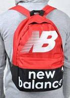 Спортивный рюкзак New Balance черный/красный не оригинал
