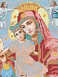 Авторская канва для вышивки бисером «Богородица Достойно есть (Милующая)», фото 2