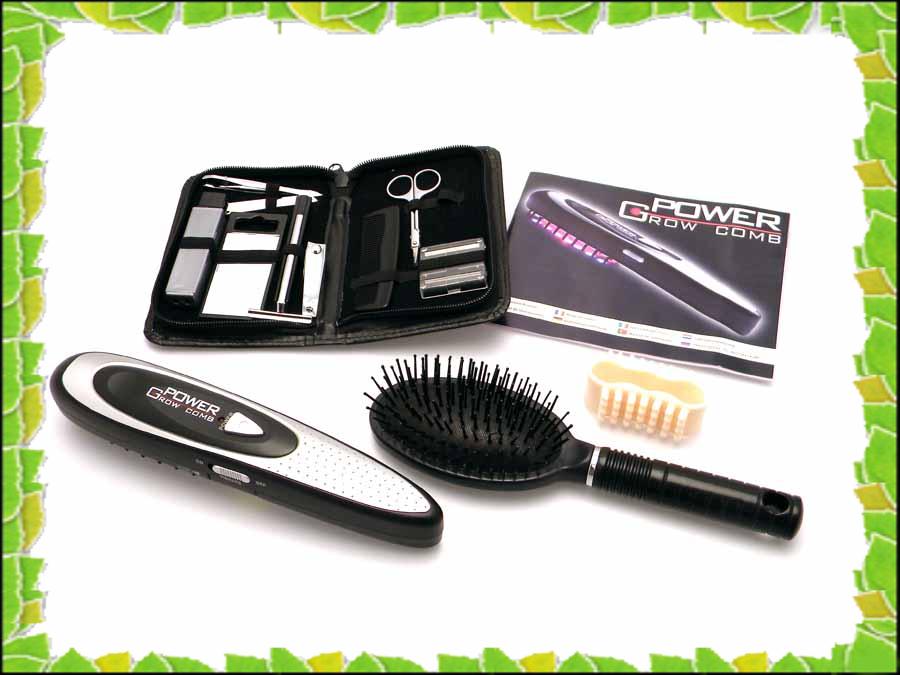 Расческа лазерная Power Grow Comb восстановление волос, фото 1