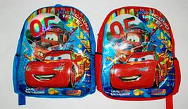 Рюкзак для мальчиков стильный Тачки 3D